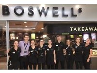 Cafe Team Members & Baristas at Boswells Cafe, Bristol - Full time (Weekdays & Weekends)