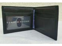 Brand new Tommy Hilfiger Genuine leather bi fold wallet