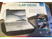 Lap Desk (Tray) Multi Function with reading light - Good for Laptop / Meal times