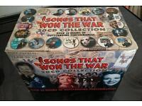 20 cds Songs that won the war !