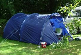 Camping Toilet Gamma : Vango gamma tunnel tent £ picclick uk