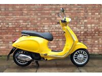 Vespa Sprint 125cc (15 REG), Excellent condition, full service history, 2400 miles