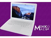 "LATEST WHITE APPLE MACBOOK UNIBODY 2.4Ghz 13"" 4GB 250GB OFFICE 2016 LOGIC PRO FL STUDIO OFFICE 2016"