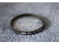 Hoya 4+ magnifying filter + UV Filter
