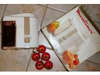 Centrifugal Juice Extractor with Auto. Pulp Expulsion, 200W, 240V.