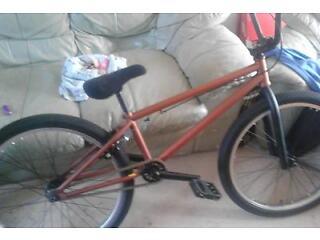 24 inch bmx brand of bike make stolen