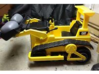 12v Ride-on CAT bulldozer