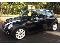 AUTOMATIC MINI COOPER LEATHER TRIM AIR CONDITIONING SERVICE HISTORY AUTO MINI COOPER ONE S