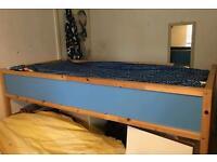 IKEA bunk bed 'Kura' with mattress for sale
