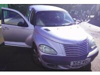 Chrysler PT Cruiser Classic 2.0, Automatic, Silver, Alloy wheels, etc