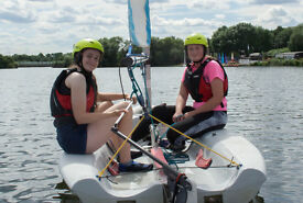 Try Dinghy Sailing for adventure & fun. Age 9-15