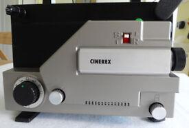 Cinerex 727 8mm Movie Projector