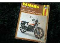 Yamaha RD original Haynes manual from the 70's