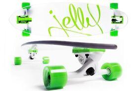 Longboard Jelly – Green – Transparent Longboard