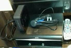 Sky Plus HD Box With Sky Broadband Hub And Remote