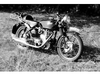 Velocette Wanted by Enthusiast.
