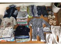 Baby boys bundle 3-6 months. Some items brand new. Grab a bargain!! Baby Gap. M&S. H&M, Mothercare