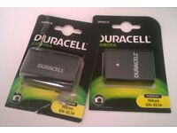 2 x Duracell DRNEL14 Camera batteries
