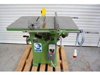 Wadkin Bursgreen 10 AGS - Tilt Arbor - Table Saw - 3 Phase