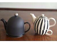2 x ceramic Teapots
