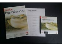 Adobe PageMaker 6.5 Plus Macintosh Mac Includes Serial Activation Number