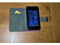 Nokia Lumia mobile phone.