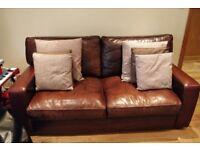 Gorgeous 2 seater leather sofa