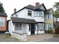 4 bedroom house to rent in South Ruislip. Garden and off-street parking. 12-18 months rental
