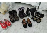 Girls shoes boots size 8 and 9