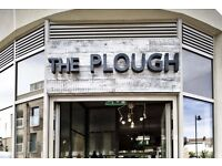 Chef De Partie required for The Plough Clapham Junction £9-9.5 per hour plus service