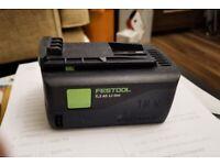 Festool BP 18 LI 5.2 AS airstream battery