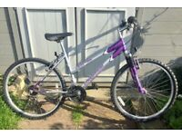 Universal Extreme front suspension bike 18 gears JUST SERVICED