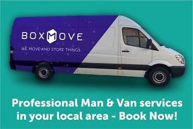 Professional and Affordable Man and Van services in West Edinburgh!