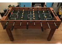 Wooden football table