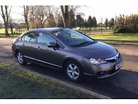 Honda Civic 1.4 Hybrid 2010 Automatic Full History 83k Leather Heated Seats, £20 Tax, PCO approved