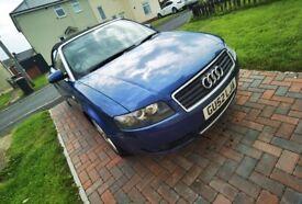 image for Audi, A4, Convertible, 2002, Manual, 2496 (cc), 2 doors
