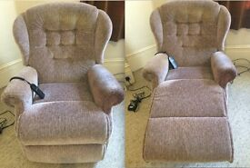SHERBORNE RECLINER CHAIR - GOOD CONDITION, WORKS PERFECTLY