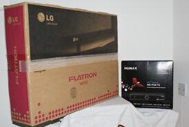 LG M2762DP FLATRON 1080p & HUMAX HD - FOX - T2