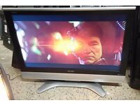 "Sharp-LC37GD8E-LCD-37"" tv-Freeview-remote"