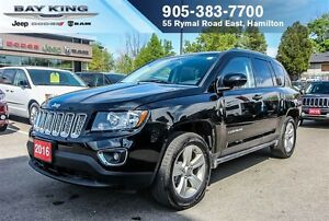 2016 Jeep Compass HIGH ALTITUDE 4X4, SUNROOF, BLUETOOTH, A/C