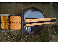 Waterrower Water Rower Rowing Machine with Monitor Display