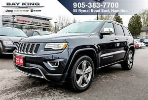 "2016 Jeep Grand Cherokee LIMITED, 4X4, NAVI, PANO SUNROOF, 20"" W"