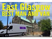 East Glasgow's top man & van. Whatsapp us for quick quote
