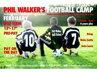 Phil walker's football camp