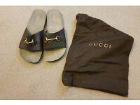 Men's Gucci Sandals UK- Size 10