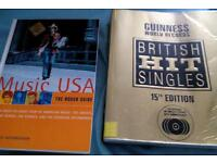 British hit singles and music USA both for £0.50