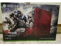 Xbox one s 2tb limited edition gow4 console , as new ,boxed ! Price stands ! swap PS4 or switch :-)