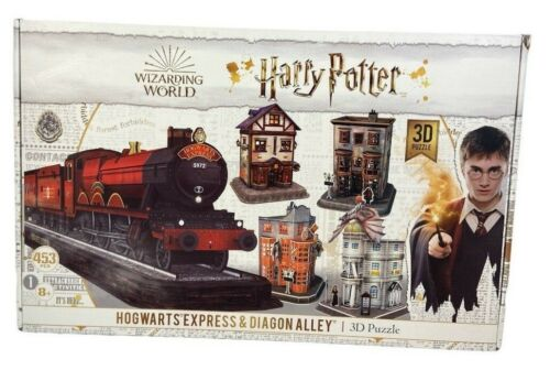Harry Potter Hogwarts Express 3D Puzzle 453 Pieces Cityscapes Factory Sealed