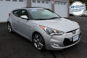 2017 Hyundai Veloster Tech! SUNROOF! NAV! WARRANTY!