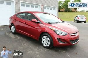 2015 Hyundai Elantra L! 6 SPEED! WARRANTY! $74 BI-WEEKLY!